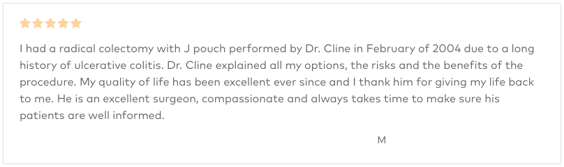 Dr Cline Review - 5 Stars
